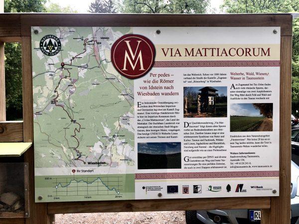 Informationstefal Via Mattiacorum